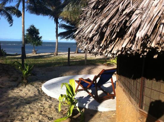 New Bagamoyo Beach Resort: Strandhut