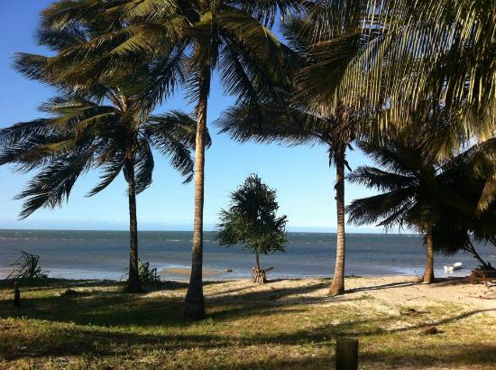 New Bagamoyo Beach Resort: Bagamoyo beach (uitzicht vanuit logies)