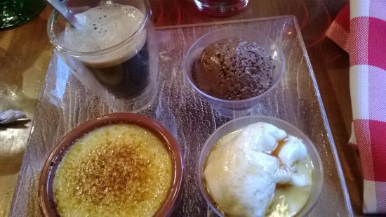 La cigogne : Café gourmand