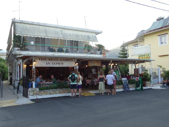 George's Place : Outside Taverna