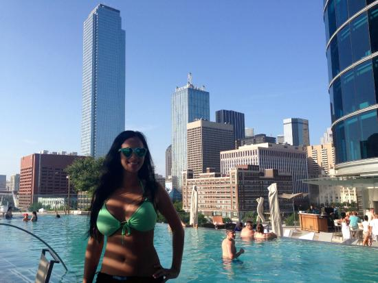 Omni Dallas Hotel Awesome Weekend Pool Scene