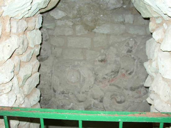 Les Ruines de Copan : Dentro de la pirámide 3