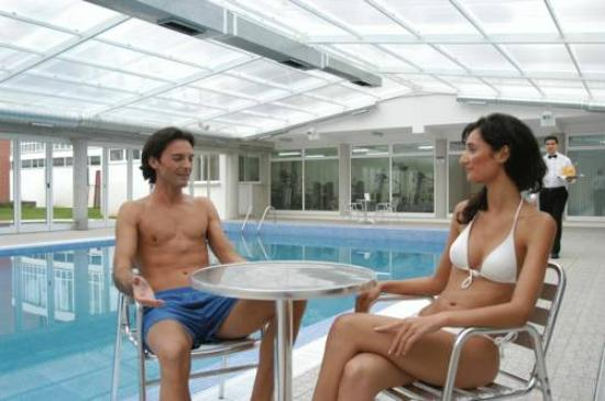 Hotel do Parque - Health Club & Spa: Piscina interior aquecida