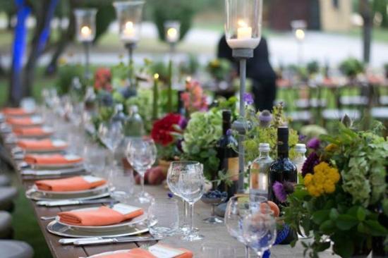 Our Wedding Reception Tablescapes Picture Of Terre Di Nano Pienza