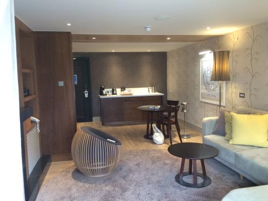 Aqua Sana Woburn Forest: Our spa suite