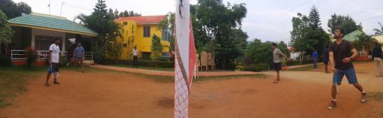 Game of badminton!