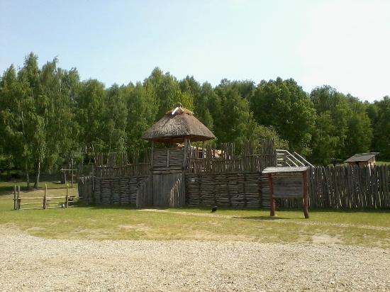 Czaplinek, Polen: Slavograd Historic Settlement