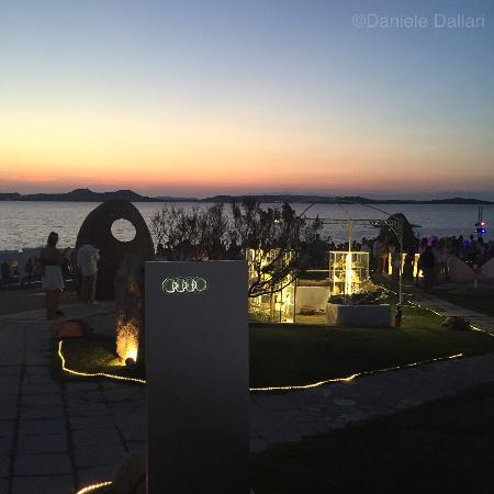 Audi Forever With Sunset Picture Of Phi Beach Disco Baia Sardinia - Sunset audi