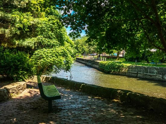 Chautauqua County, NY: Riverwalk In Jamestown, NY