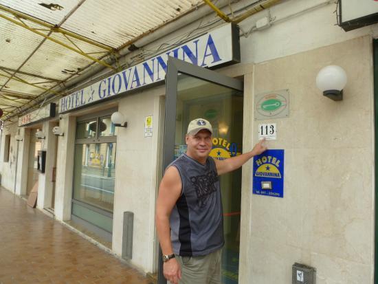 Hotel Giovannina: Мой счастливый номер дома