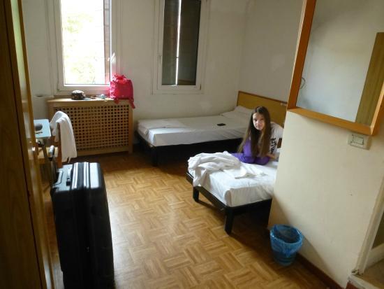 Hotel Giovannina: Просторный номер