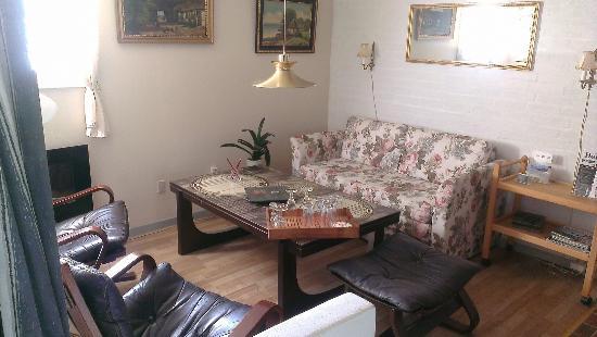 Motel Herning: Koselig atmosfære, landlig og stillheten er i fokus.