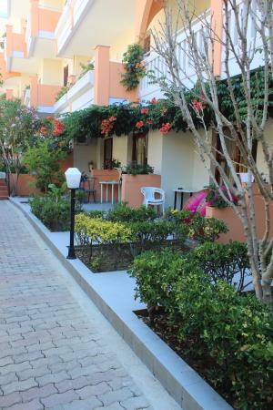 Canea Mare Hotel: uteområdet bakkenivå