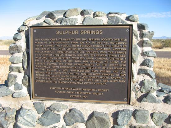 Pearce, AZ: History of The Sulphur Springs Valley