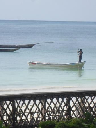 Palm Beach Inn: high tide