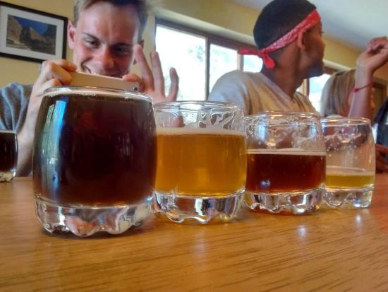 Cerveceria del Valle Sagrado: Beer!