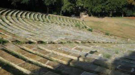 Ada, OK: Historic Wintersmith Amphitheatre