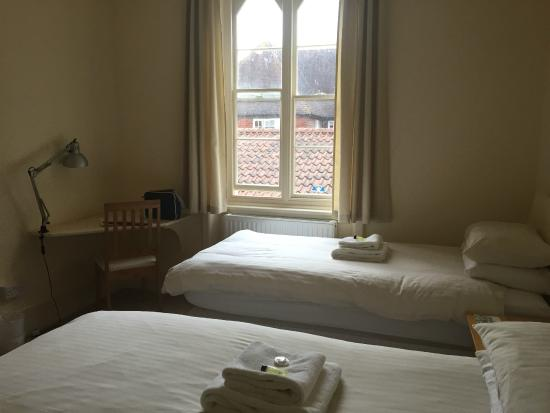 Sarum College: Two singles room