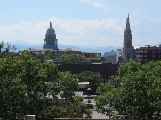Days Inn Denver Downtown: Udsigt fra værelse