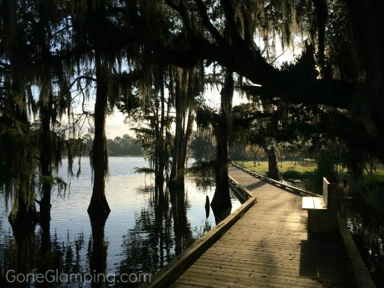 Boardwalk on the river - Picture of Fairview-Riverside State Park