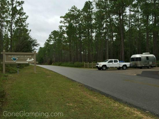 Blackwater River State Recreation Area : Entry to Blackwater River SP