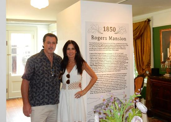 Southampton Historical Museum: ROSARIO CASSATA AND CAROLYN CASSATA IN ROGERS MANSION