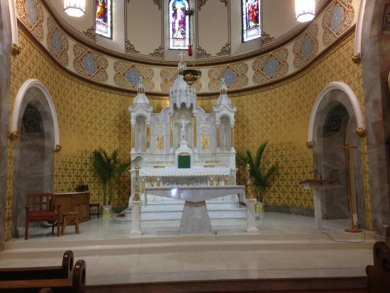 St. John's Catholic Church: The Karra marble Altar