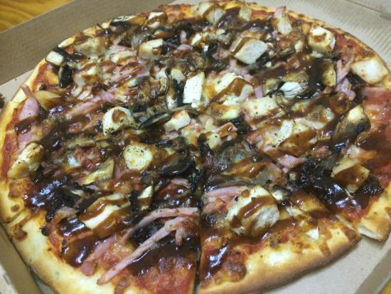 Pizza Project: BBQ chicken pizza