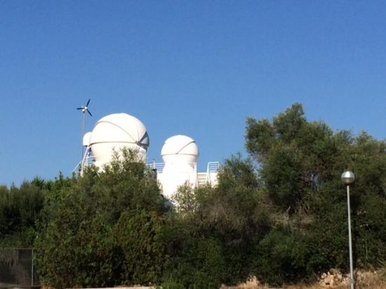 Costitx, İspanya: Главный телескоп