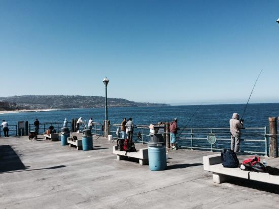 Picture of redondo beach pier redondo beach for Redondo beach pier fishing