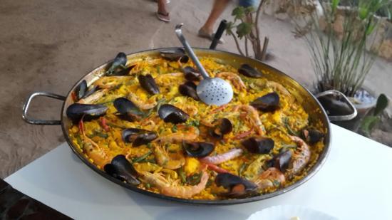 Paella de pescado picture of restaurante pelayo - Paella de pescado ...