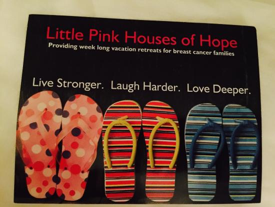 Kate's Pancake House: I love that they help women with breast cancer!!