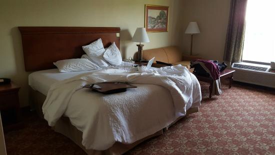 Hampton Inn Shrewsbury : King Bed