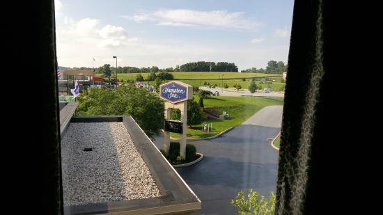 Hampton Inn Shrewsbury : View from room #301