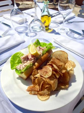 Hamilton's Grill Room : Our famous Lobster Roll. House-made potato chips.