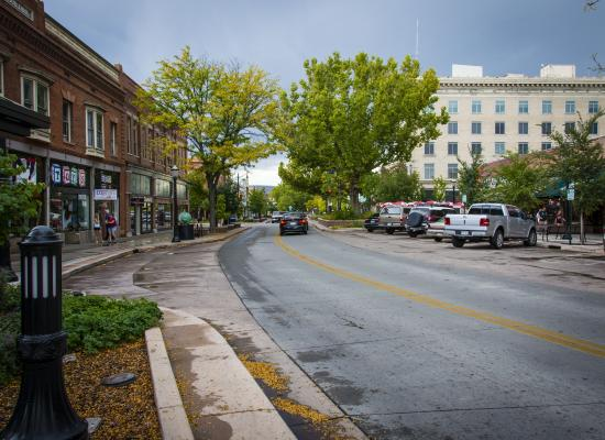 Downtown at Sunset, Main Street. | Grand junction, Grand