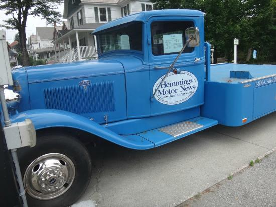 Hemmings Motor News Filling Station: How is this for a ramp truck!
