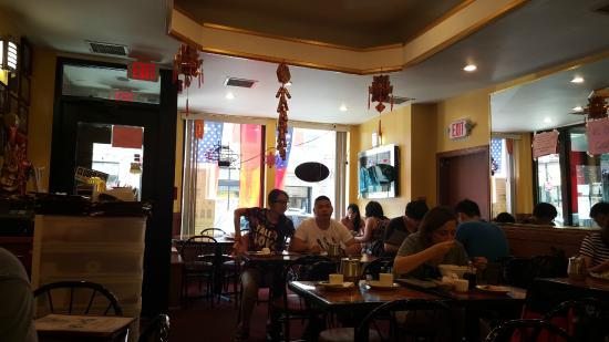 Restaurant interior picture of gourmet dumpling house