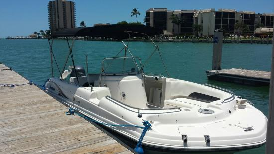 21 Hurricane Center Console Deck Boat Picture Of
