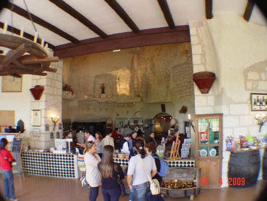 Caves Monmousseau : entrada