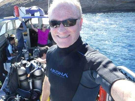 Makena Coast Dive Charters: on the boat!