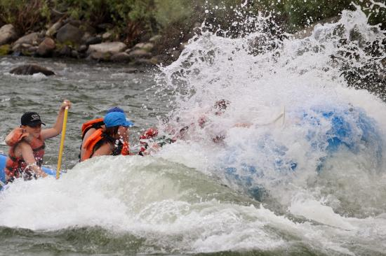 White Water Raft trip on the Yellowstone River with the Yellowstone Raft Company
