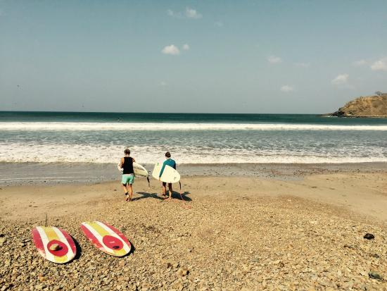 Chica Brava Surf Retreat: Playa Ramanso