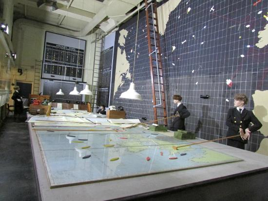 Western Approaches - Liverpool War Museum: Operations Room