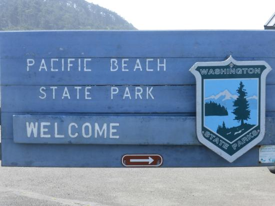 Pacific Beach State Park: Pay to stay