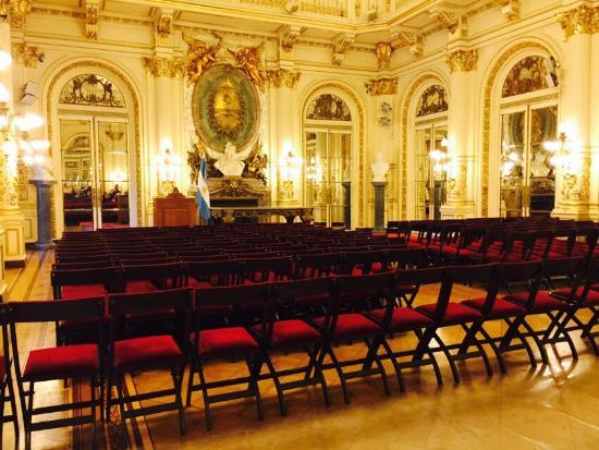 Foto de la casa rosada palacio de gobierno buenos aires for Gobierno interior
