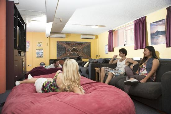 Glebe Point YHA: TV room
