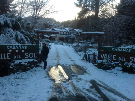 Hosteria Valle del Sol: Entrance