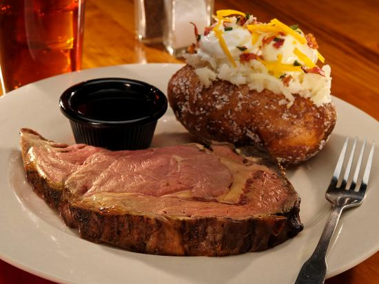 Sagebrush Steakhouse: Prime Rib
