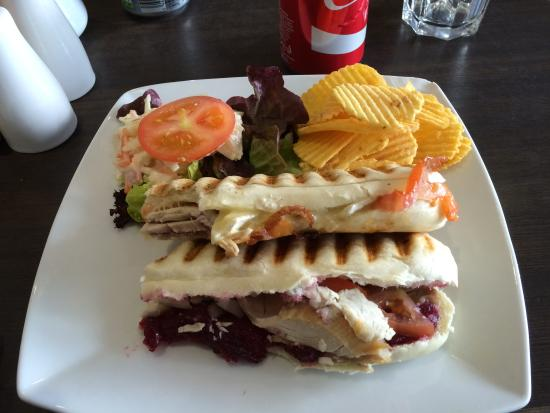 Coco Cafe: turkey panini